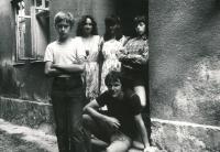 """""""Salesiánská chaloupka"""" (tajný způsob práce smládeží za totality), Koryčany u Kyjova, 1980"""
