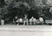 Jedna zakcí skřesťanskou mládeží  1979