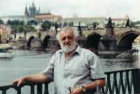 Otto Peschka dnes s Hradčany