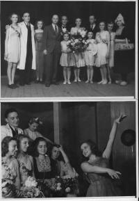 Tancování ve Zlíně s Mobi Urbanovou 15. - 16. 5. 1946
