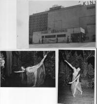 Dancing with Mobi Urbanová in Zlín, May 15-16, 1946