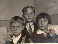 Boris Masník s bratry