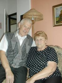Josef Janczik with his wife