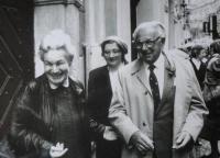 Ruth Hálová s Nicolasem Wintonem
