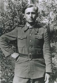 Michal Javorčák v r. 1945
