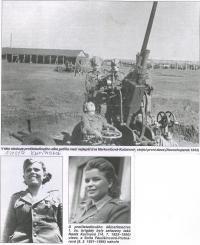 Obsluha protiletadlového děla, Novochopersk, SSSR, 1943