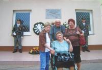 Helena Kociánová v Želiezovcích, kde přišla o nohu