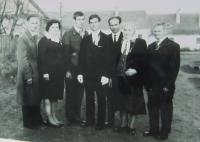 Rodina Maxiánová (sourozenci a rodiče Heleny Kociánové)