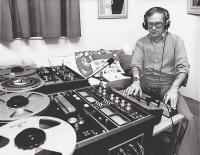 Gene Deitch během práce 1979