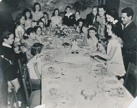Narozeniny sestřenice Glorie s hvězdami filmové společnosti MGM 1932