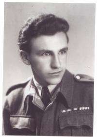 Václav Jirkovský v roce 1945 v Československu