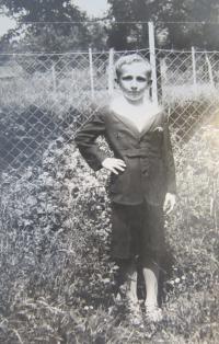 Josef Freml v dětství