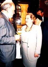 Radim Palouš a Madeleine Albright
