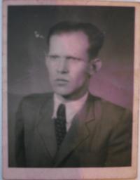 Otec pamětnice Herbert Hübner
