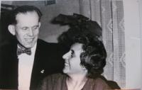 Rodiče Božena a Herbert Hübnerovi