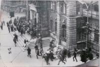 21. 8. 1968 v Liberci. Radnice