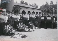 Pohřeb obětí 21. 8. 1968 v Liberci