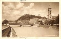 Štýrský Hradec během II. světové války (pohlednice, přední strana)