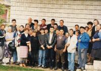 cca 1990, srbská část rodiny bosenské národnosti