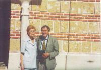 2002 s manželkou Dobroslavou
