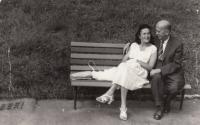 Zlatá svatba rodičů 1968