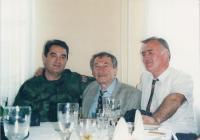 Bělehrad 1998 s gen. Pavkovićem v uniformě - velitelem srbské kosovské armády