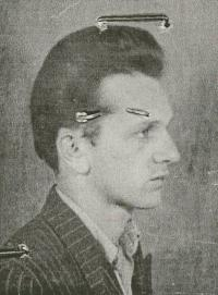 Aurel Baghiu. Photo from his arrest