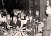 Vzpomínkové setkání členů Souboru Olgy Putzkerové