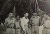 In the Bahamas, Jiří Pavel Kafka wholly right, Pavel Vranský on the left