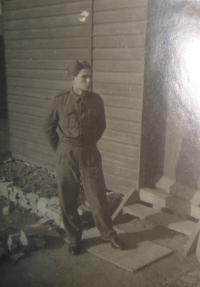 Jiří Pavel Kafka v RAF