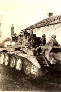 Útok na Dunkerque s tanky Cromwell 28.října 1944