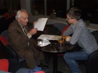 Prvé stretnutie s pánom Strmeňom, oboznámenie sa z príbehom.
