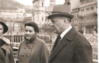 Anna Fidlerová s Karlem Högerem, Karlovy Vary