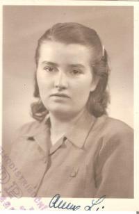 Anna Fidlerová 40.léta