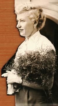 Bohumír's first wife Sáša from Ukraine