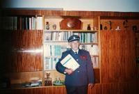 Bohumír Hájek in his army uniform