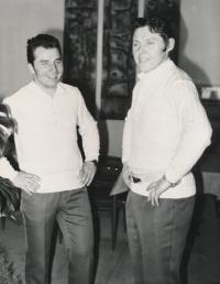 1972, Sapporo, Jan Havel a Jiří Raška