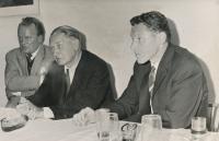 Beseda, 1968/9, Sedláček, Kádě, Havel