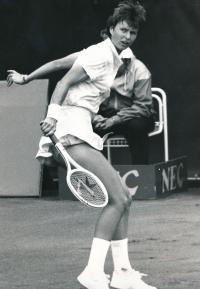 Helena Suková, 1986