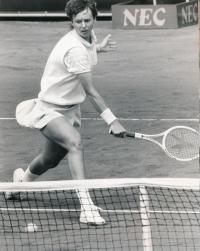 Helena při zápase, 1986