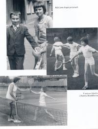 Tenisové začátky