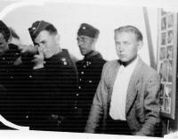 Na italské střelnici, Dalibor Knejfl s puškou