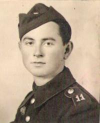 Dalibor Knejfl partyzánem, 1944