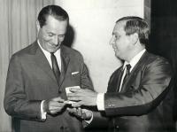 V 70. letech – Karel Dufek nalevo