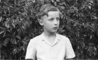 Jaroslav Bukovský v mládí