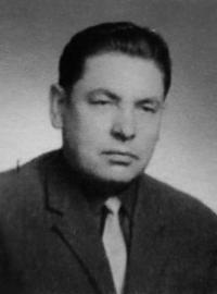František Žebrák in 1971