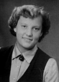Sister Magdalena in 1955