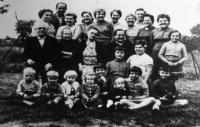The Žebrák family in 1962