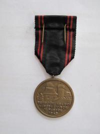 """Medaile """"Silou Žižkovou"""" - rub"""