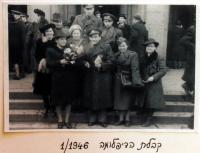 Graduation in Prague / 1946